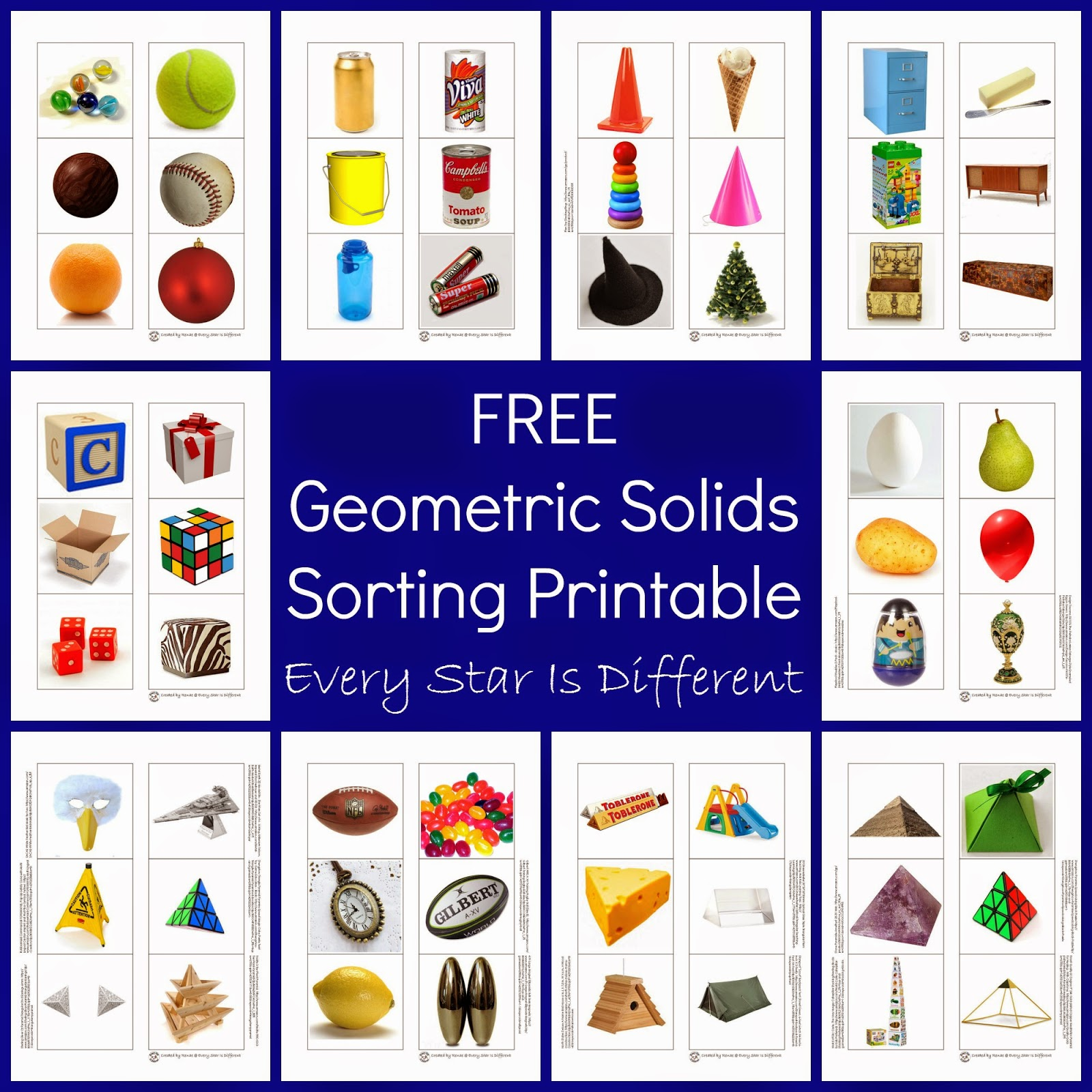 3 Dimensional Shapes Activities u0026 Printables - Every Star ...
