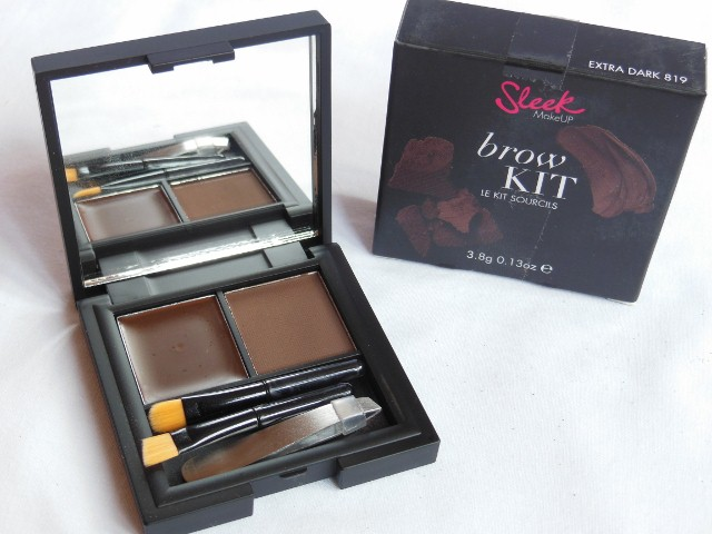 Sleek Brow Kit Review | The Makeup Cafe
