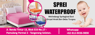 SPREI WATERPROOF | PRODUSEN SPREI WATERPROOF TERBESAR DI INDONESIA 08128274488