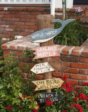 curb appeal with signs