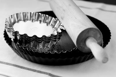 Тарталетки с вишней.