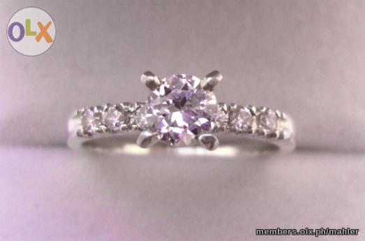 High Quality Cubic Zirconia Wedding Rings 62 Elegant CUBIC ZIRCONIA VINTAGE STERLING