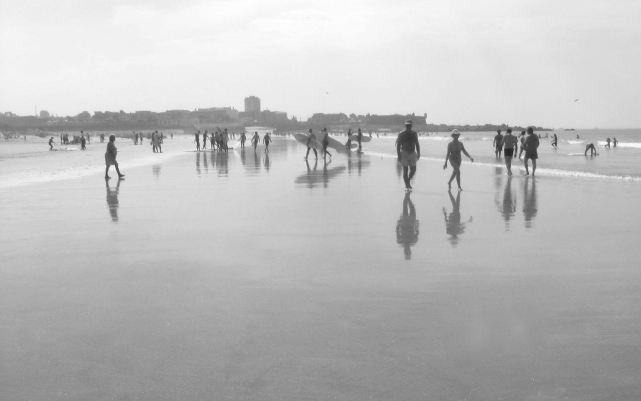 Um dia na praia