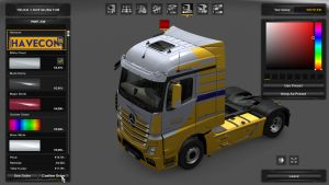 Havecon Skin for Mercedes Benz MP4
