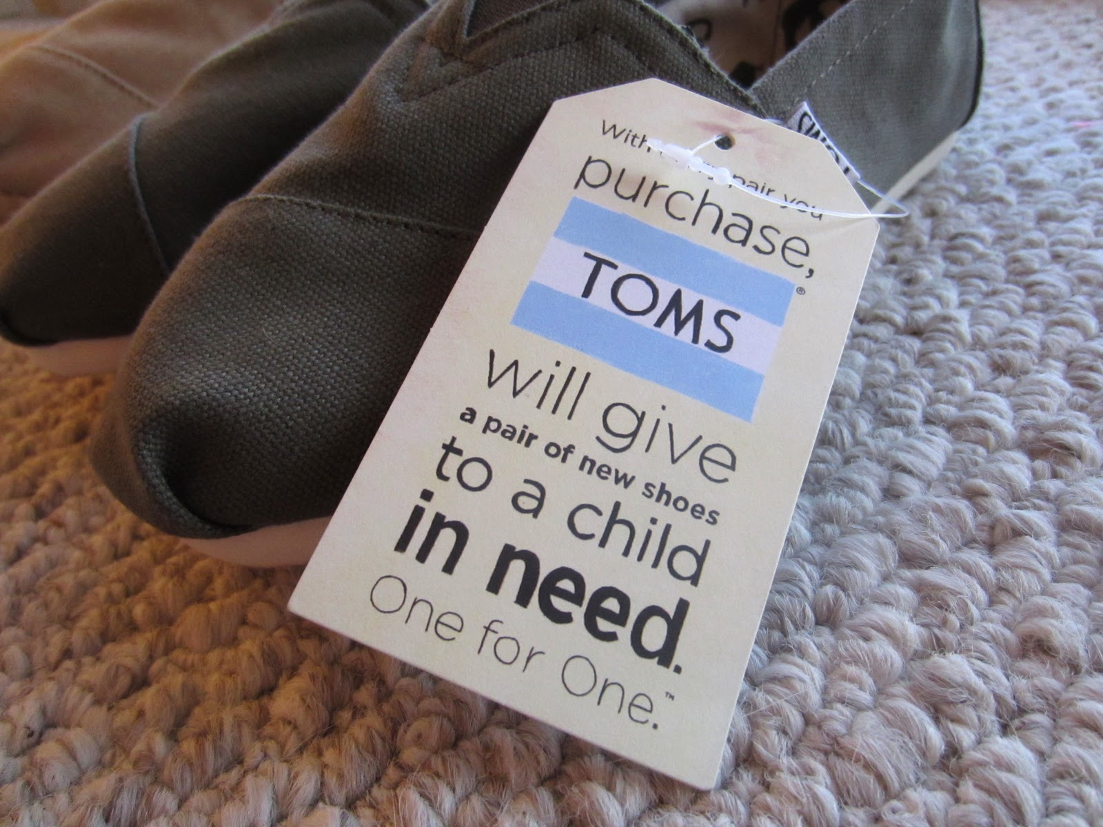 Toms Shoes Buy With Cause