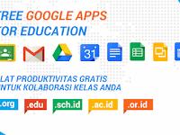Google Apps & Email Gratis untuk Sekolah dan Lembaga Pendidikan