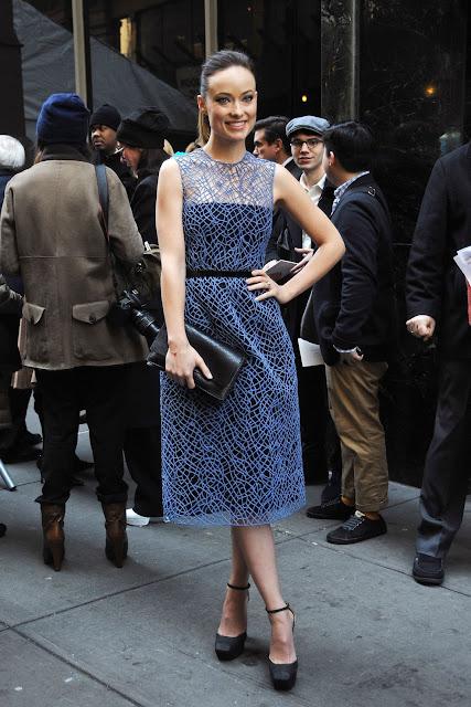 Olivia Wilde at Calvin Klein Fashion Show in New York