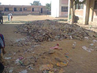 بالصور استمرار اعمال الصيانه بعدد كبير من المدارس أثناء الدراسة مما يؤثر سلباً على الطلاب