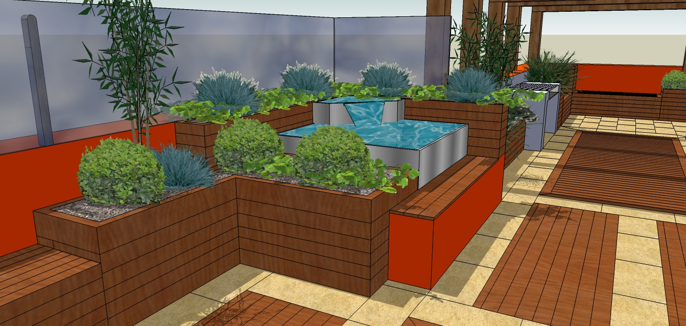 Moved permanently for Rooftop garden designs