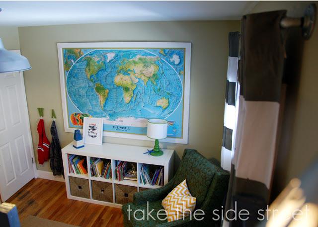 Take the Side Street: Boys\' Room {Reveal}