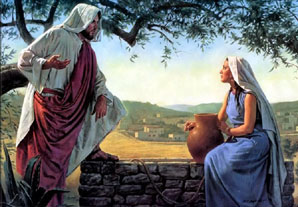 O que a mulher samaritana encontrou no poço?