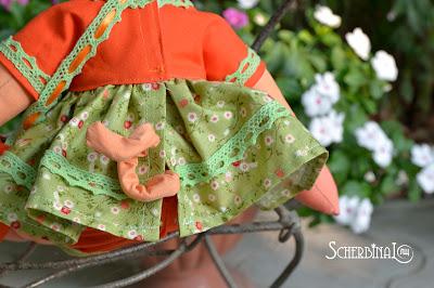 текстильная кукла хрюша, свинка