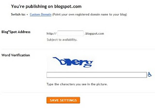 Cara Publishing Blog di Blogspot seo