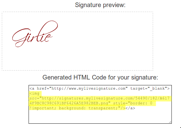 how to add signature in blogger