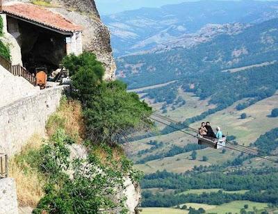 Transporte en las alturas