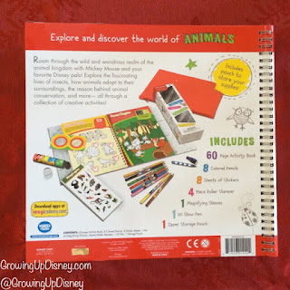 Disney Imagicademy activity book back cover
