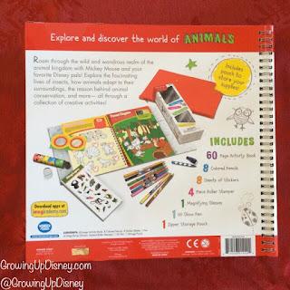 Disney Imagicademy activity book back cover