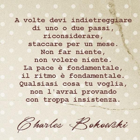 citazione bukowski