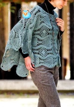 Shawl Poncho Patterns | New Free Patterns