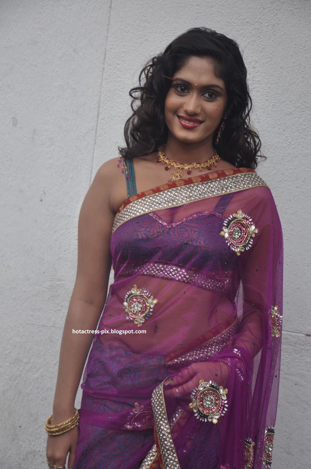 Lavanya sexy Transparent Saree hot blouse sexy and Navel Show,Lavanya ...