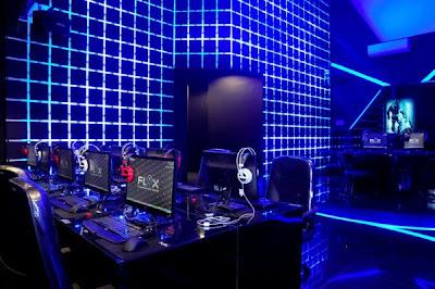 4 Cyber cafe yang super canggih ,terasa dalam Tron Legacy