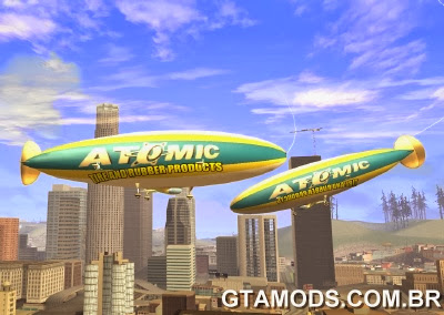 Dirigivel Atomic do GTA V