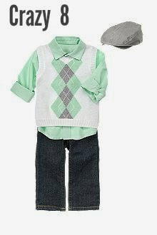 Crazy 8 Boys Easter Outfit