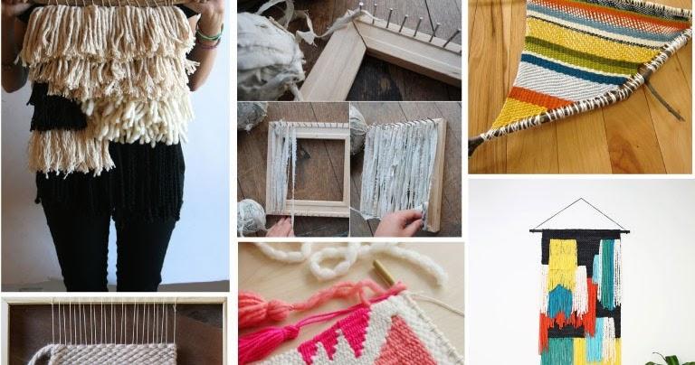 Weekend Project | 10 Weaving Tutorials + Ideas