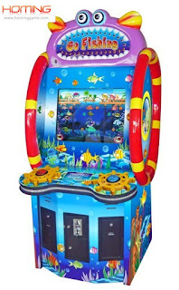 GO FISHING redemption game machine