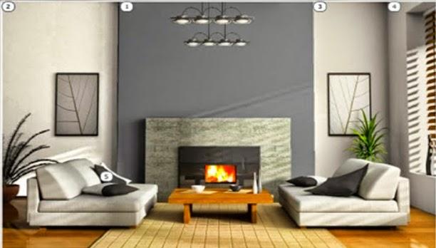 7 Model Kombinasi Warna Cat Ruang Tamu Minimalis
