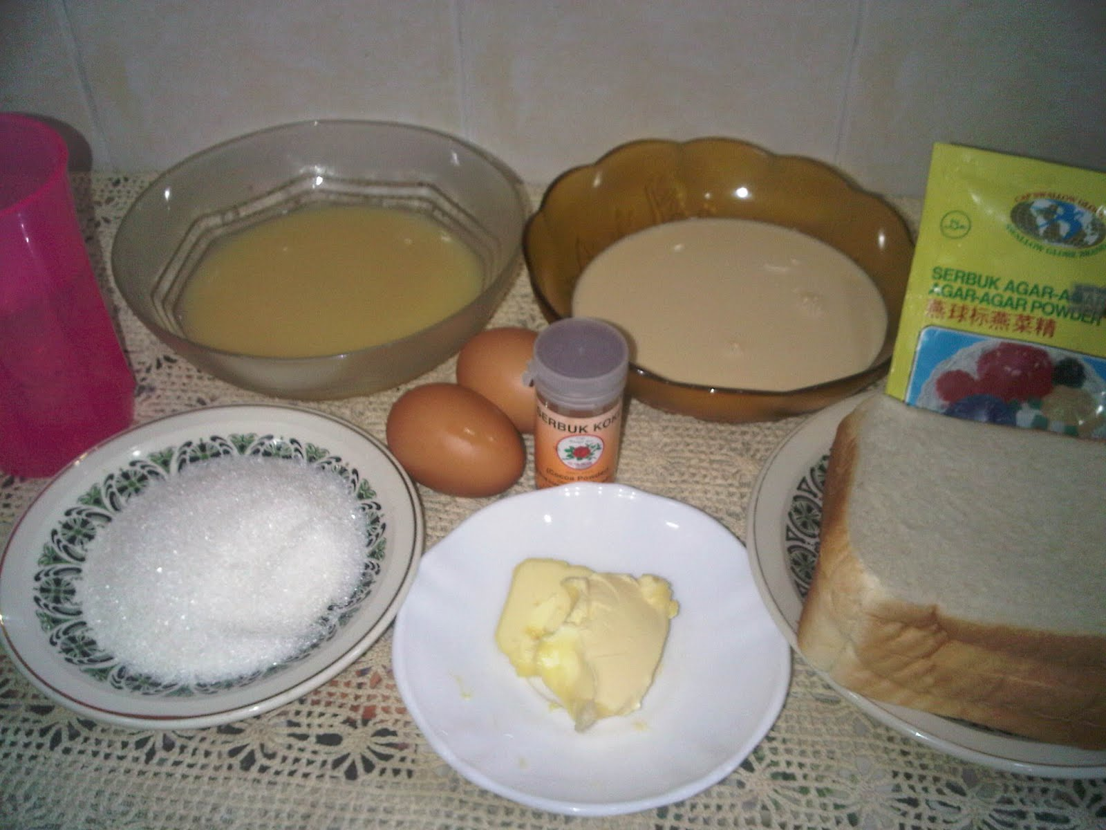 Resipi Puding Roti Cake Ideas and Designs