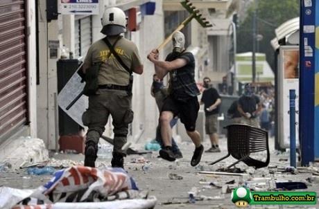 Enquanto isso na Grécia