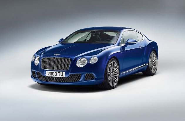 2013 Bentley Continental GT Speed Bentley Motors Limited Revealed 2013 Continental GT Speed at this year's Goodwood Festival of Speed.