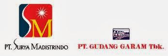 Lowongan Terbaru PT. Surya Madistrindo (Gudang Garam) November 2013