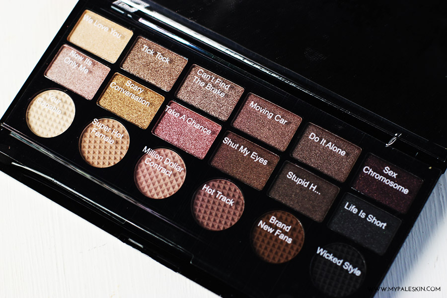 make up revolution, savlation, what you waiting for palette, swatch, review, haul