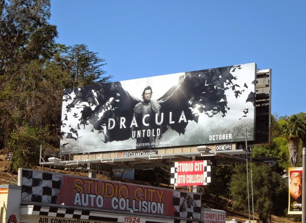Dracula Untold film billboard