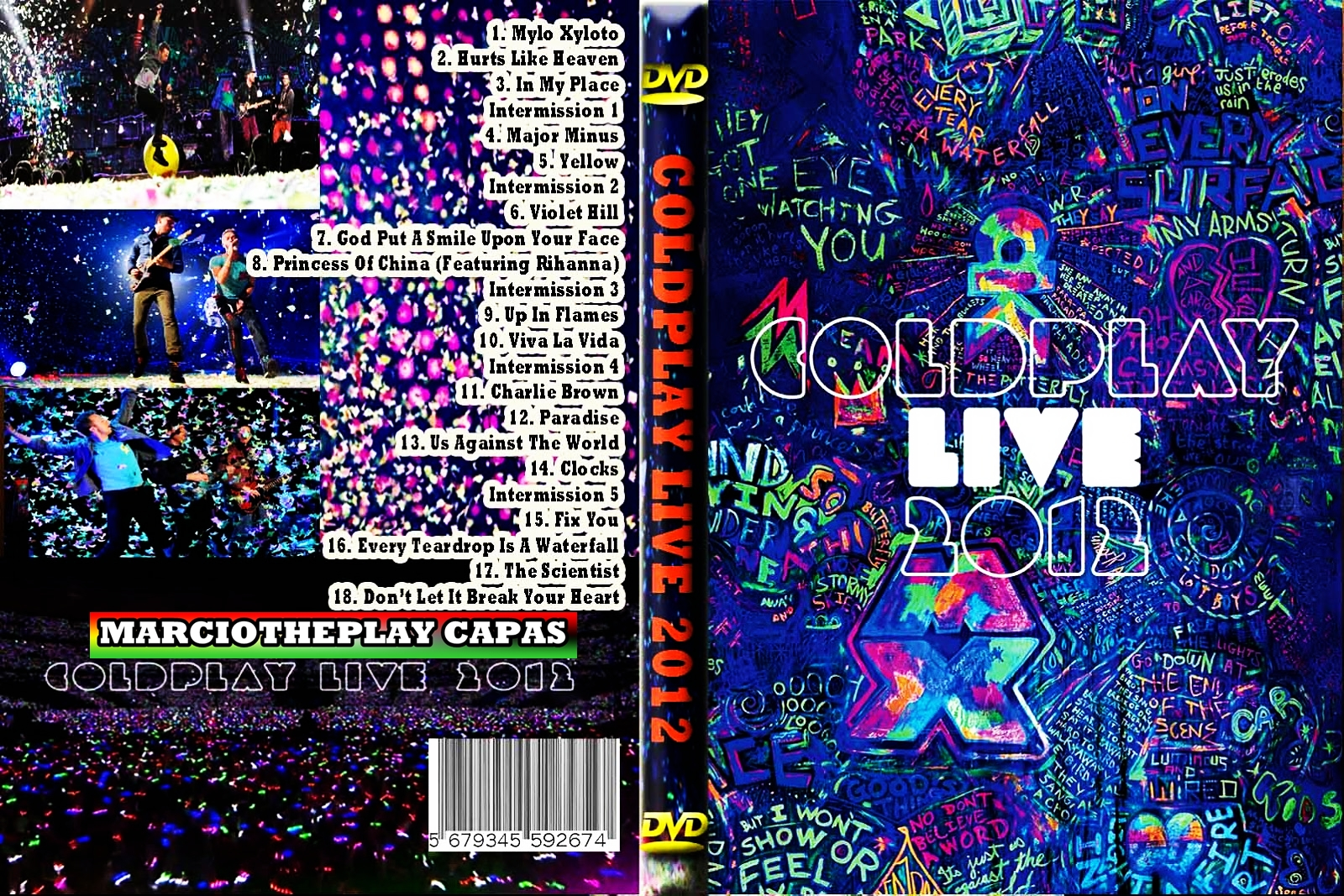 Coldplay: Live COLDPLAY%2BLIVE%2B2012