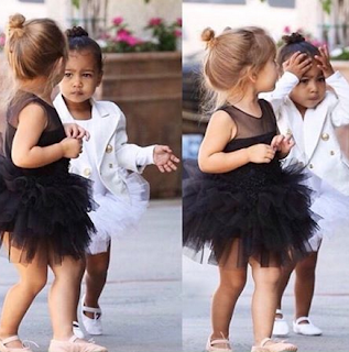 "Baby North Annoyed With The Paparazzi and Looks Like Her Father ""Kanye"" Proving It"