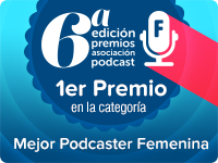 Dumakae Premio Mejor Podcaster Femenina 2015