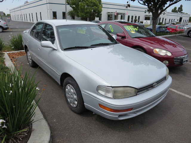 1995 Toyota Camry after collision repairs & paint at Almost Everything Auto Body