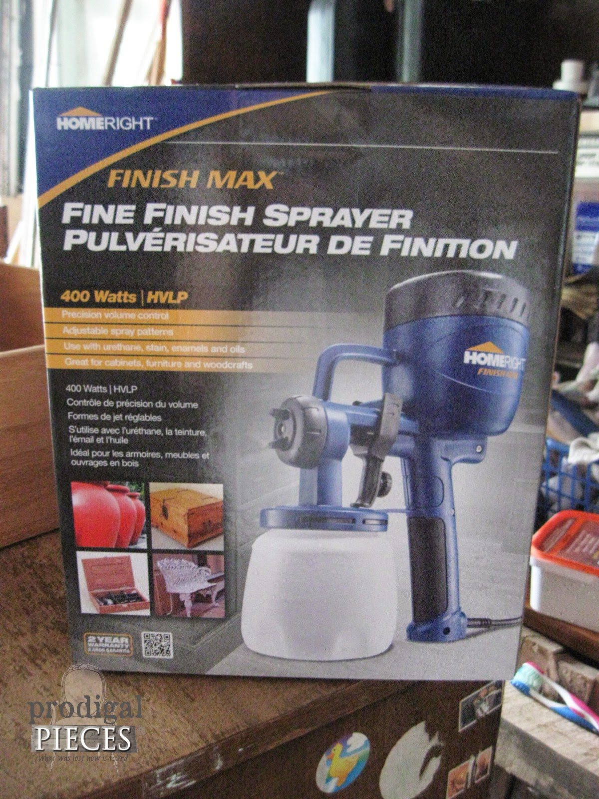 Home Right Finish Max Sprayer review coming soon by http://www.prodigalpieces.com