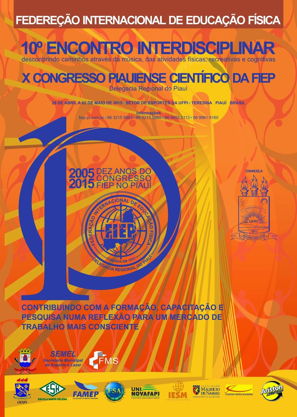 10º Encontro Interdisciplinar Piauiense.