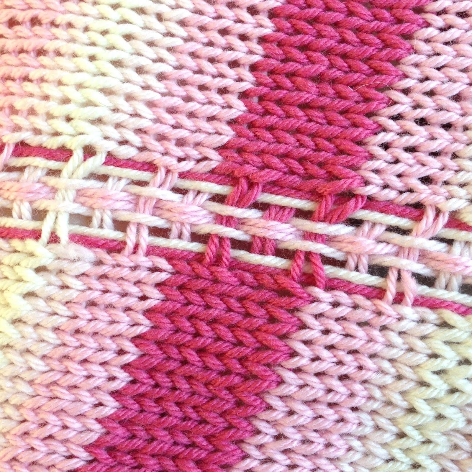 Rachael Rabbit: Free Tutorial/Pattern: Knitting Tartan