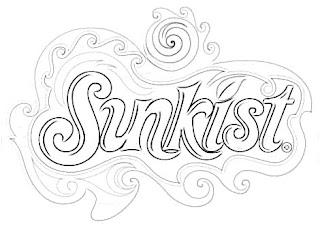 Sunkist Logo Sketch