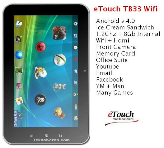 eTouch TB33 Wi-fi