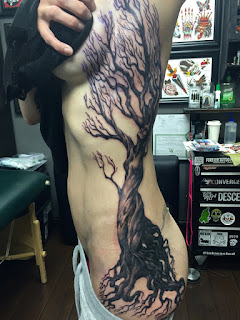 Old Tree Tattoo