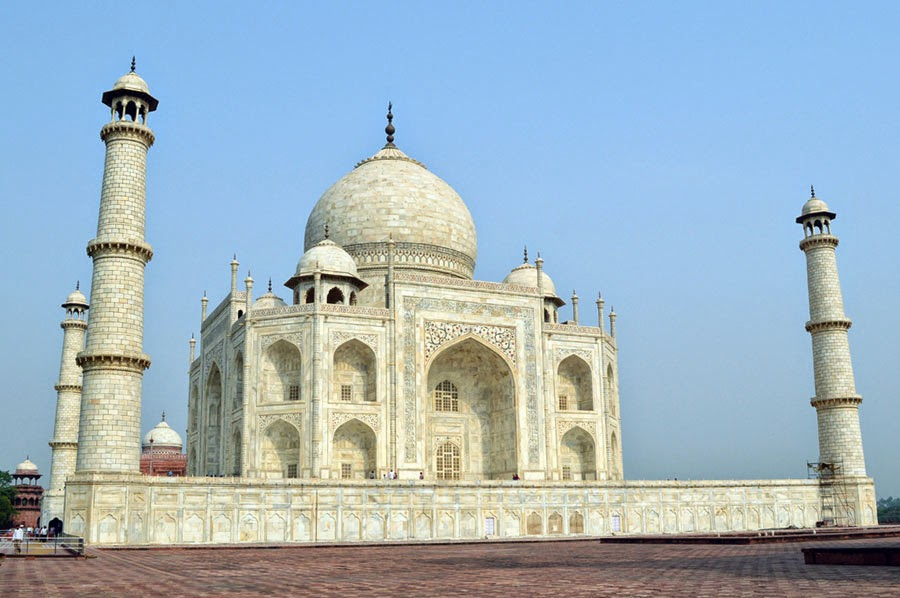 taj mahal side