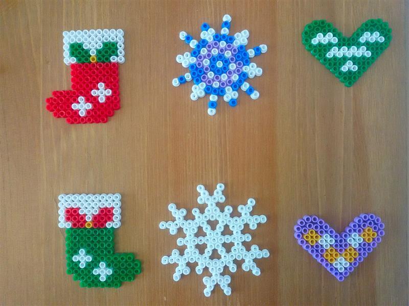 P creativa addobbi natalizi fai da te con pyssla for Addobbi natalizi fai da te 2016