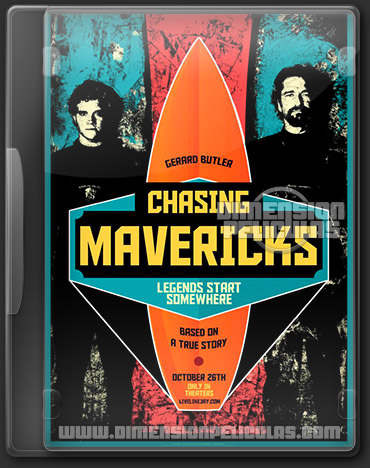 Chasing Mavericks (DVDRip Ingles Subtitulada) (2012)