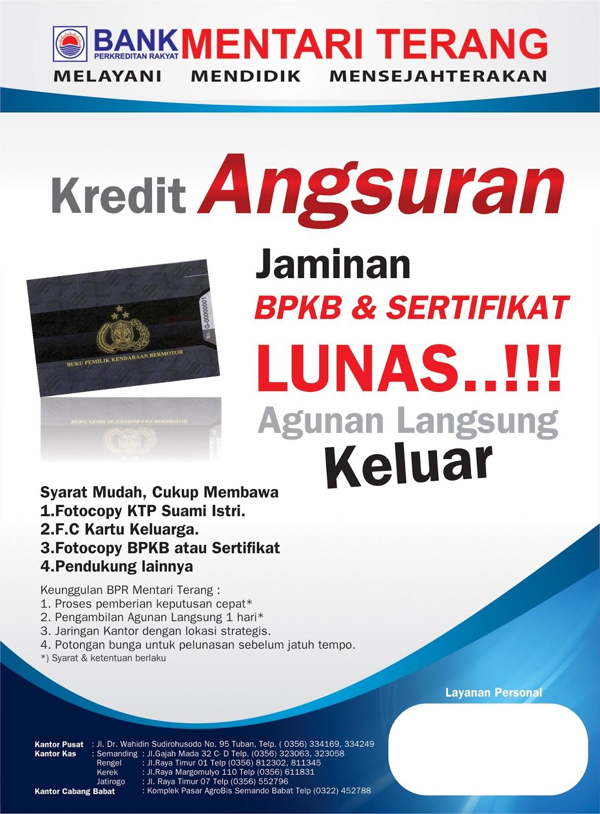 Brosur Kredit Bank